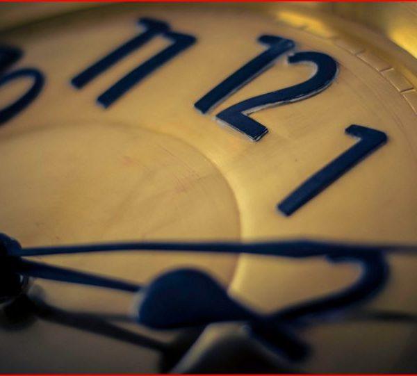 Lägga tid på sin blogg.
